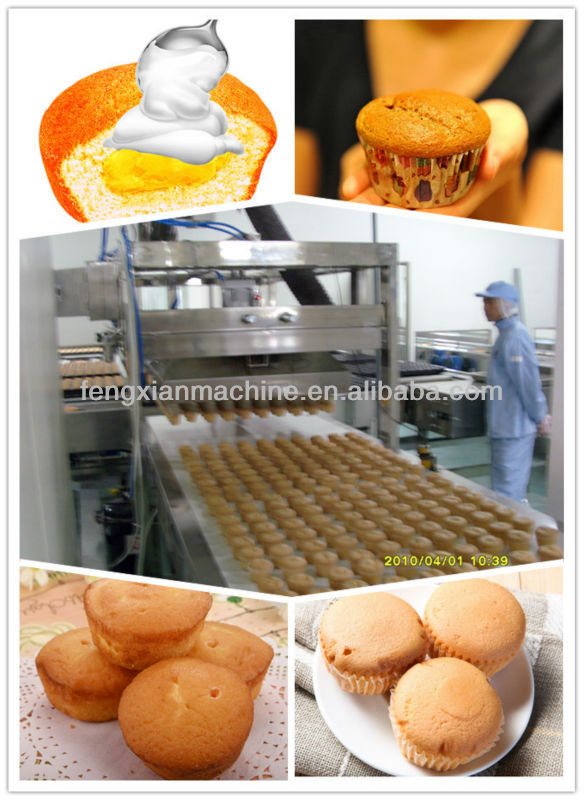 Full Automatic Complete Cup Cake Machine 86-13311700322