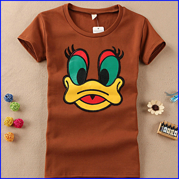 girls cloths with japanese printed most popular t-shirt women wholesale