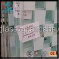 ultra clear tempered laminated ceramic fritted glass price