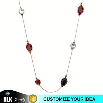 Women fashion trendy stylish necklace for girls