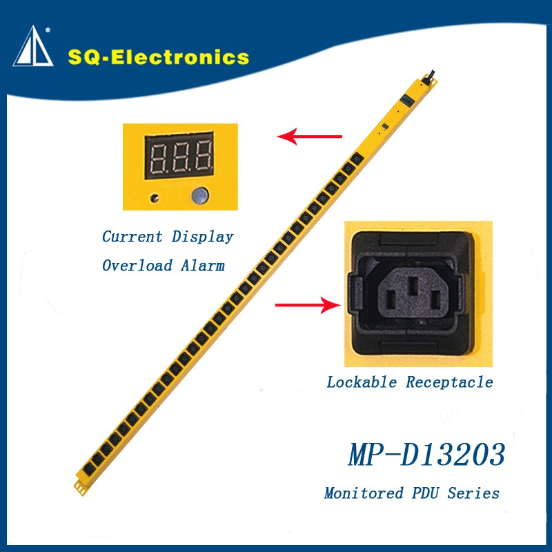 Monitored PDU-D13203 DC Power Distribution 32 outlet PDU