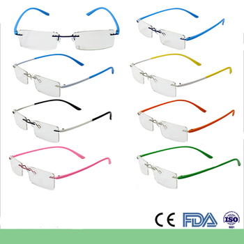 Rimless Glasses En Espanol : Colorful Cheap Rimless Optical Frames - Buy Optical Frames ...