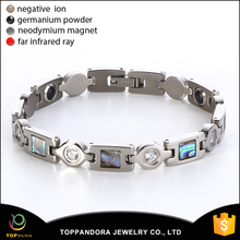 most popular toppano titanium magnetic bracelet promote sleep for office worker