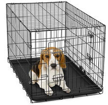 foldable metal Pet Dog Cat Cage Crate Kennel