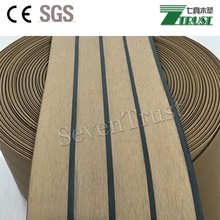 Marine PVC flooring/synthetic teak/boat/yacht decking