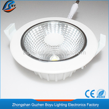 MOQ 10 pieces dimmable led downlight with aluminum housing