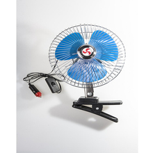 New Style with suction cup car fan heavy duty cip gimbal 6 inch oscillating for sale