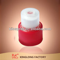 KL high quality non-spill caps for 5 gallon water bottle wholesale double security plastic sport caps