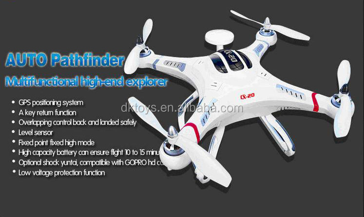 Cheerson Mini RC Quadcopter CX-20 Auto Pathfinder With GPS