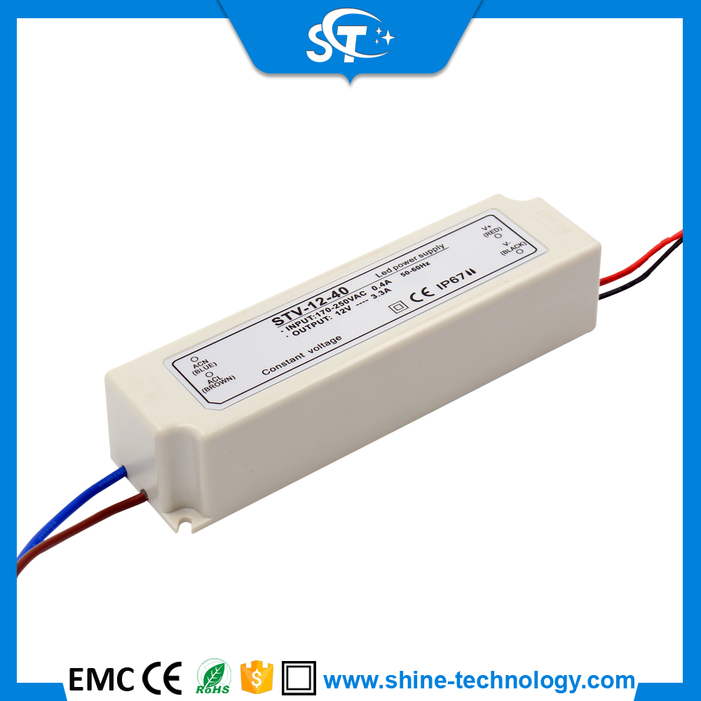 High frequency moving sign applications high voltage led power supply (STV-12-40)