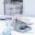 Fashion Design Clear Necklace Storage box Acrylic Jewelry Organizer with Velvet Tray