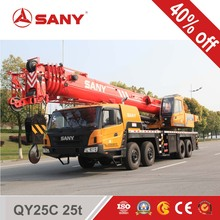 2011 SANY original refurbished QY25C 25 Ton used Truck Crane