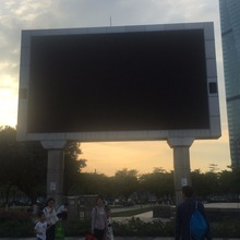 outdoor P6 led advertising screenmulti installation video function price