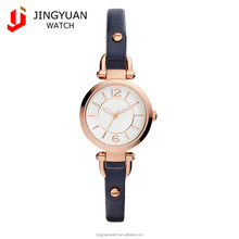 Ladies fashion small dial waterproof women watches with leather strap18