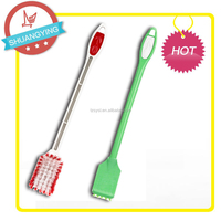SY3501 Flexible Bendable Corner Soft Brush Toilet Kitchen Cleaning Brush
