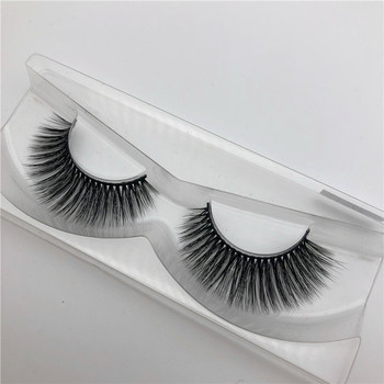 Real Mink Fur Lashes 3D Eyelashes With Private Label lashes