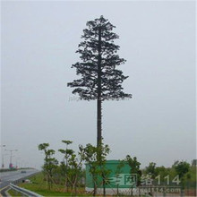 Artificial Bionic Palm Tree, Steel Pole Communication Tower