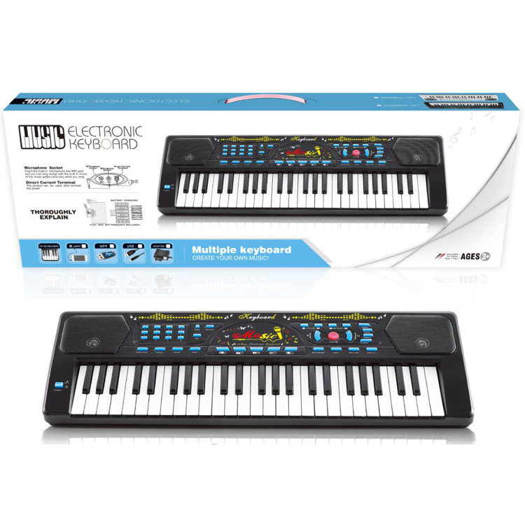 Education Toy Manufacturer Electronic Music Keyboard Instrument