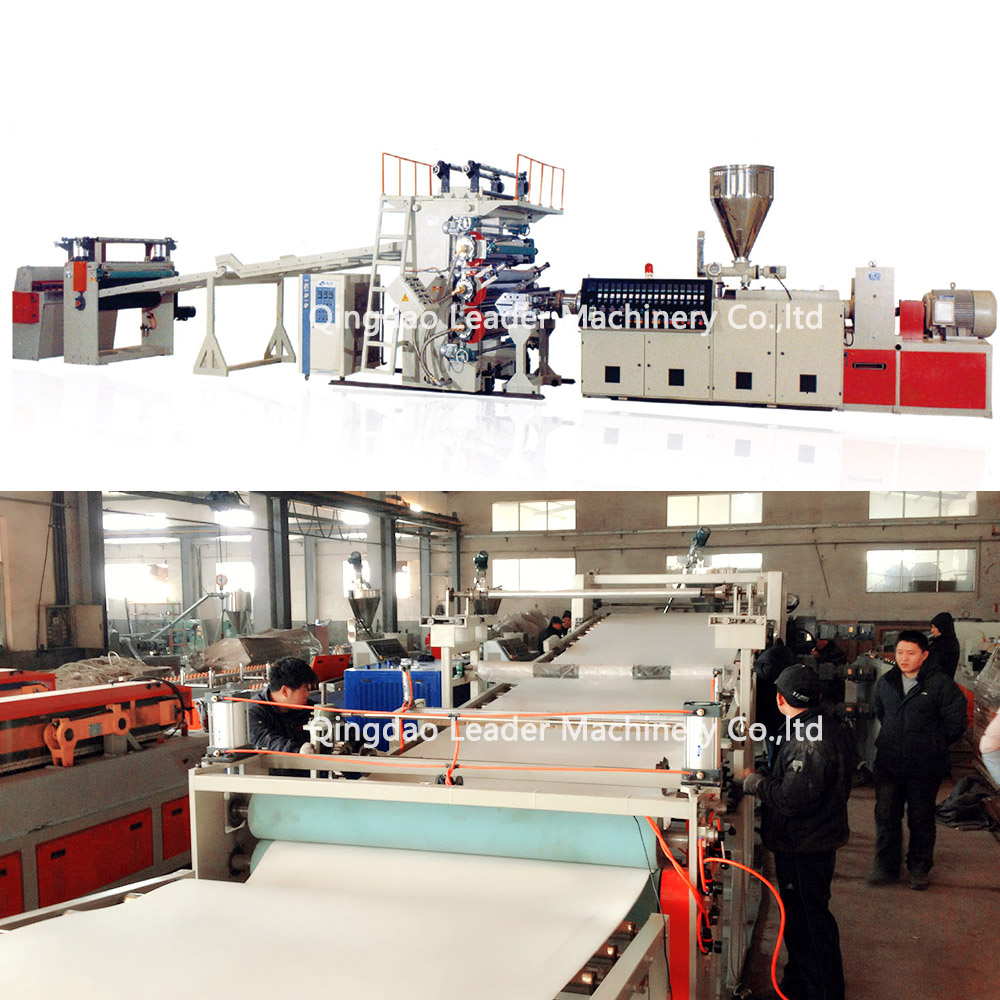 sheet extrusion technology PVC edge band sheet production line