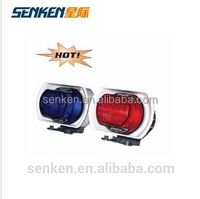 Senken police use motorcycle xenon strobe lights speaker12v siren police 12V siren speaker