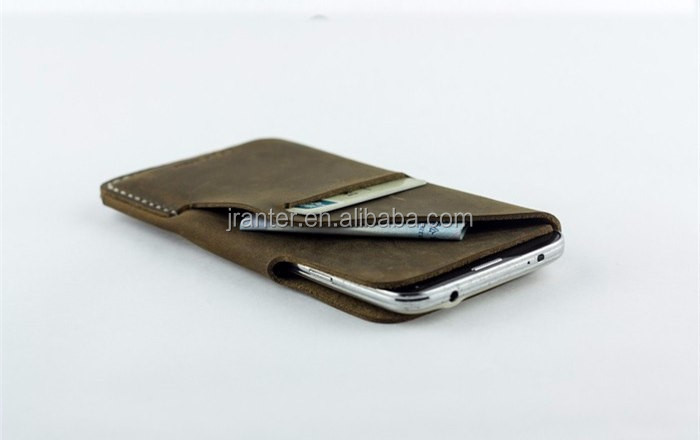 Jranter Customized OEM for iPhone 6s Case Genuine Leather for iPhone 6 Pouch