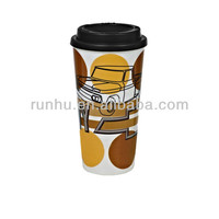photo personalized insulated coffee thermos mugs with logo