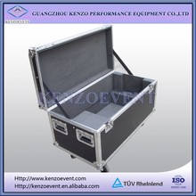High quality cable case with removable panels and tray flight case