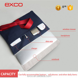 Factory in guangzhou EXCO nylon matching color high quality office hand bag 2016 for MacBook 13''