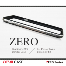 [DEVILCASE] Various Color 100% A6061 Cellular Phone Bumper Case with TPU Layer for Apple iPhone Case