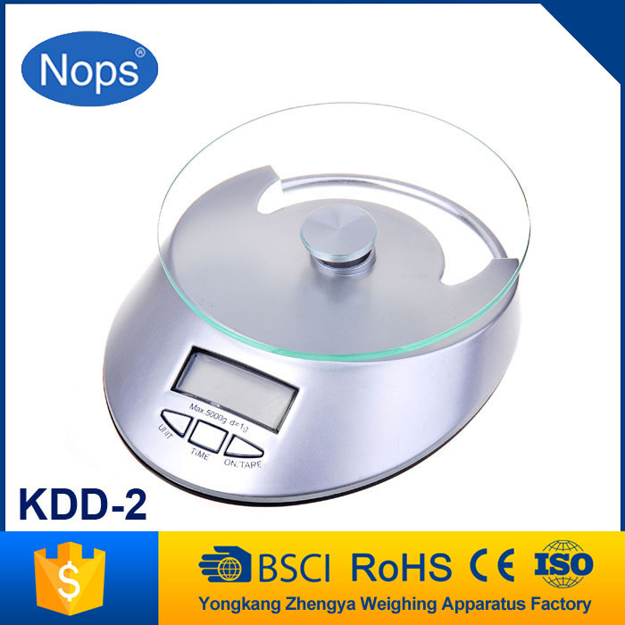 Best-seller accurate cheap digital round kitchen scale