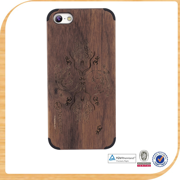 New arrival bamboo wood phone case For iPhone 5s 5c 4 4s samsung s4 s5