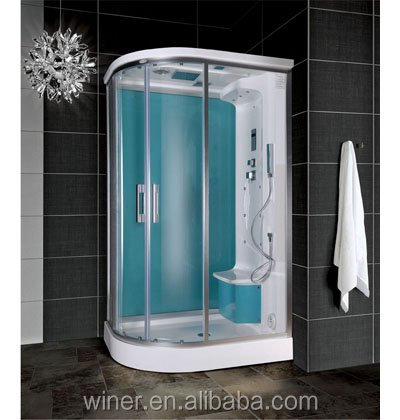 WN-1219 shower room partition/steam shower room roller/ steam room with sauna