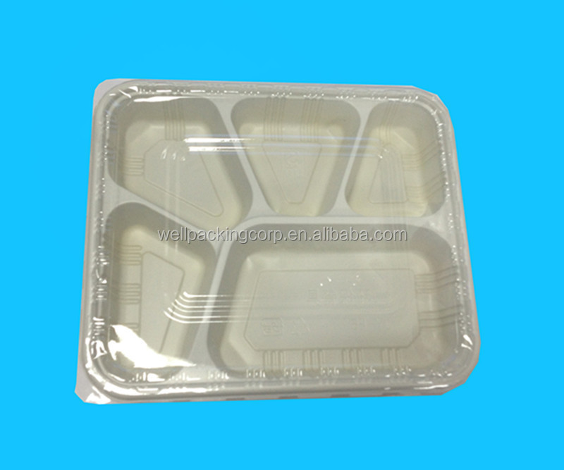 disposable 3 compartment plastic microwave food containers