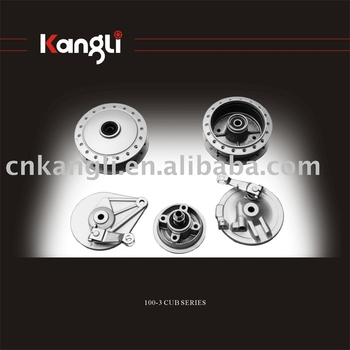 Motorcycle hub for CD-70