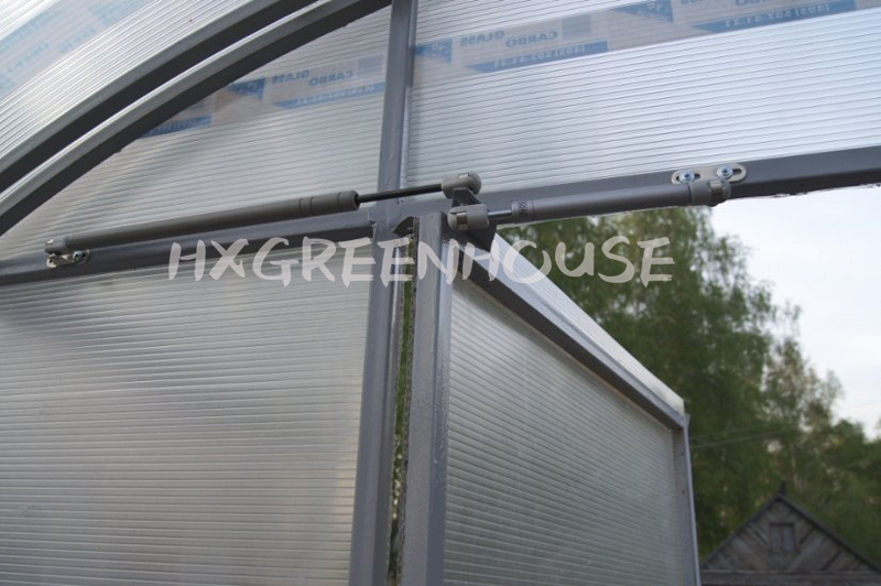 Automatic greenhouse ventilation thermo door opener for Fenetre thermos