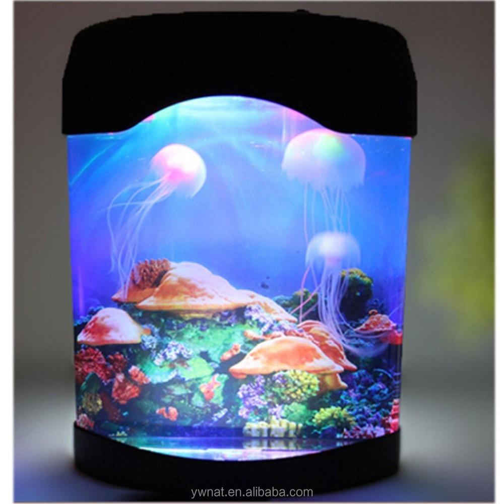 Novelty Led Artificial Jellyfish Aquarium Lighting Fish
