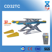 Hydraulic Car Lift Machine With CE 3200KG,205MM height