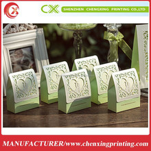Green Design Wedding Candy Boxes Wedding Jewerly Gift Boxes