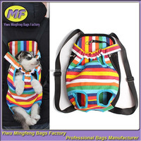 Portable Cat Pet Puppy Dog Carrier Shoulder Backpack Front Tote Carrier Net Bag
