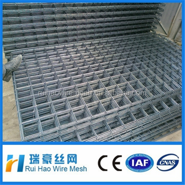 2x2 galvanized welded wire mesh panel / 10 gauge welded wire mesh