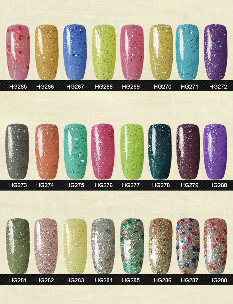 HoneyGirl nail gel polish nail art design beauty salon