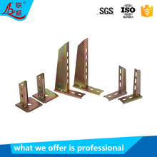 Low Price Hot Dip Galvanized Slotted Angle Wall Bracket Cable Tray Accessories for Cable Support