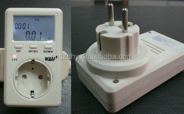 Digital Only Display Type and Single Phase Phase electric digital energy meter