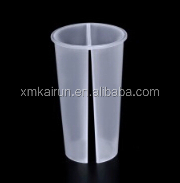 700ML Twins PP cup Plastic cup for Hot and Cold drinks Double enjoy
