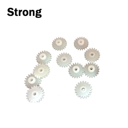 High strength customized small plastic wheel gears for toys