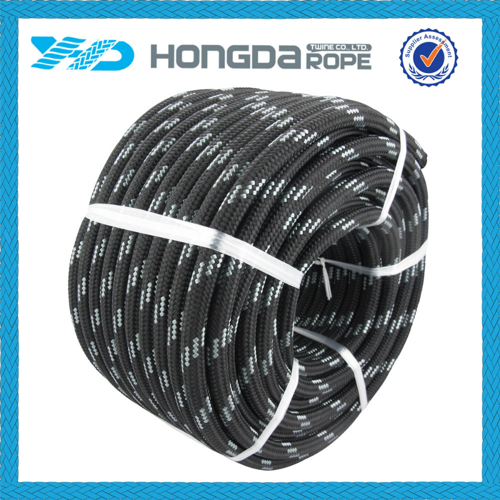 Fashion High Breaking Strength Light weight 2-50mm multicolor PP rope