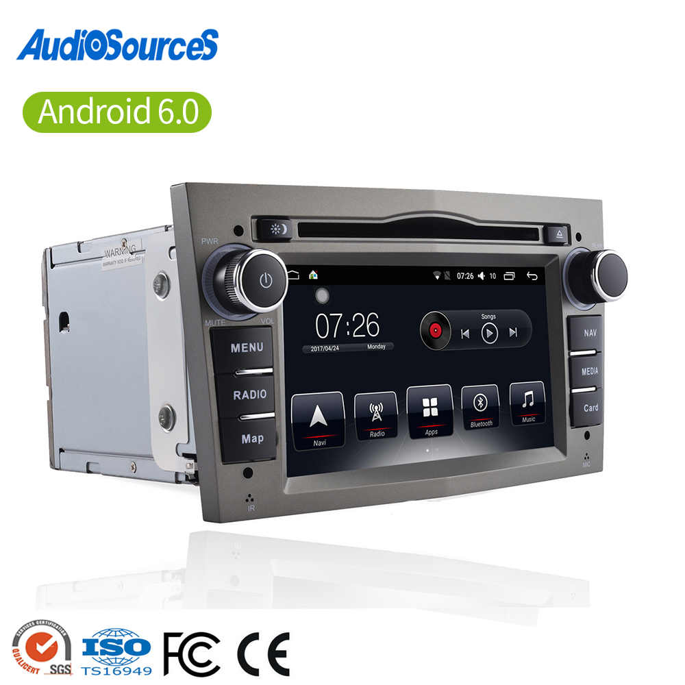 Best selling radio android 6.0 car usb with RDS WIFI for opel vectra c for opel corsa