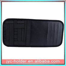 new arrival car sun visor cd organizer ,JOY029 leather car sun visor tissue pocket