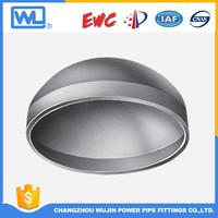 Big Size Carbon Steel Material Pipe Cap Square