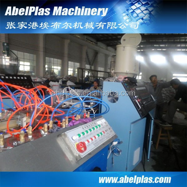 ecological wpc profile extruser, high quality wpc profile board production line, new coming wpc fence extrusion line